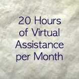 20 Hour Virtual Assistant Package