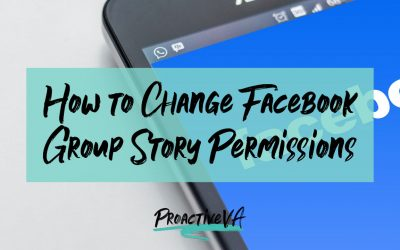 How to Stop Members from Posting Stories in Facebook Groups