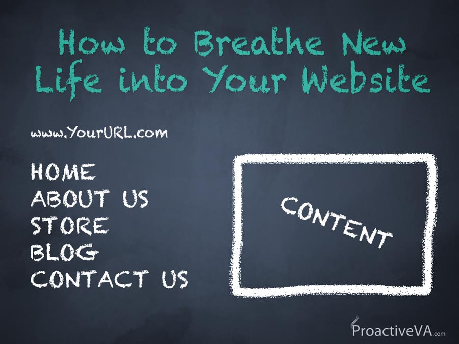 How to Breathe New Life into Your Website