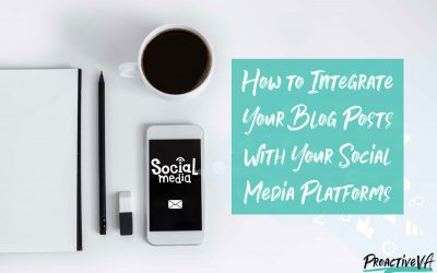 How to Integrate Your Blog Posts With Your Social Media Platforms