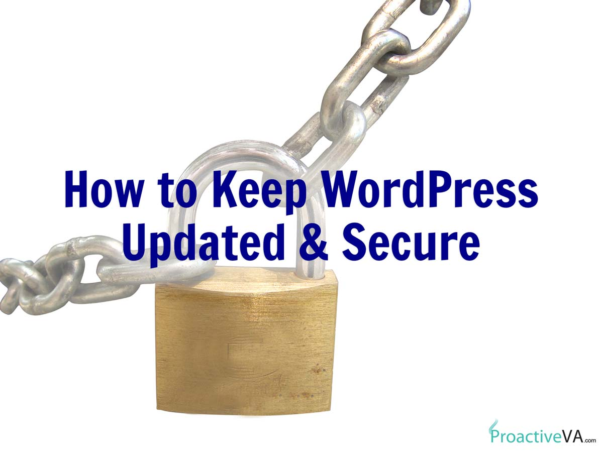 How to Keep Your WordPress Site Updated and Secure