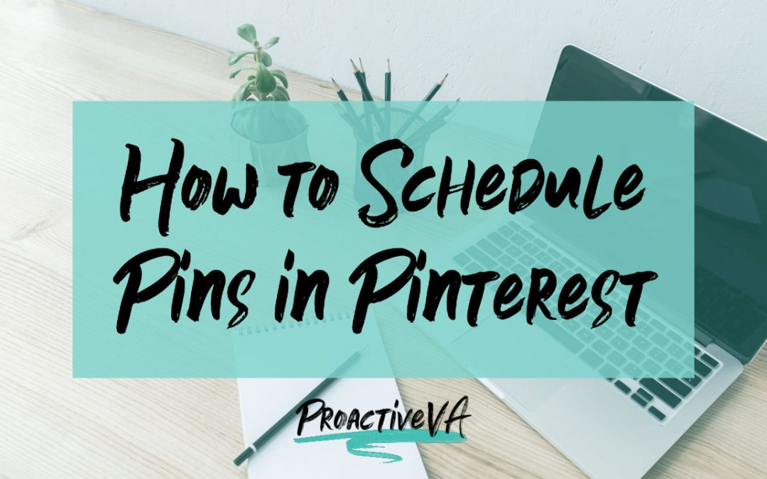 How to Schedule Pins on Pinterest Without Using Other Programs