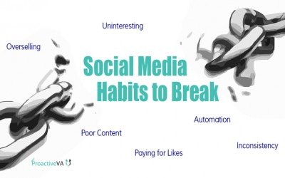 Social Media Habits to Ditch Today