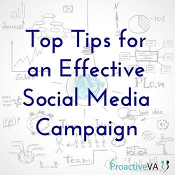 Top Tips for an Effective Social Media Campaign