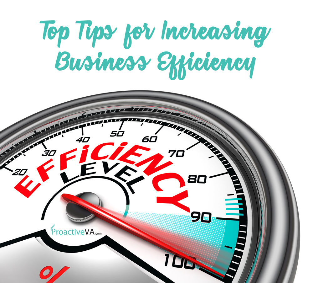 Top Tips for Increasing Business Efficiency