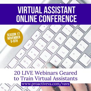 Virtual Assistant Online Conference