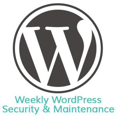 Weekly WordPress Security & Maintenance Services