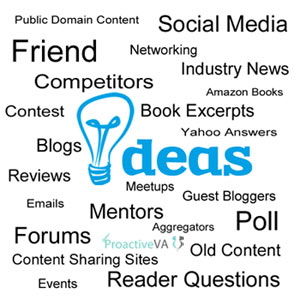 6 Ways to Find Topics Idea for Blog Posts