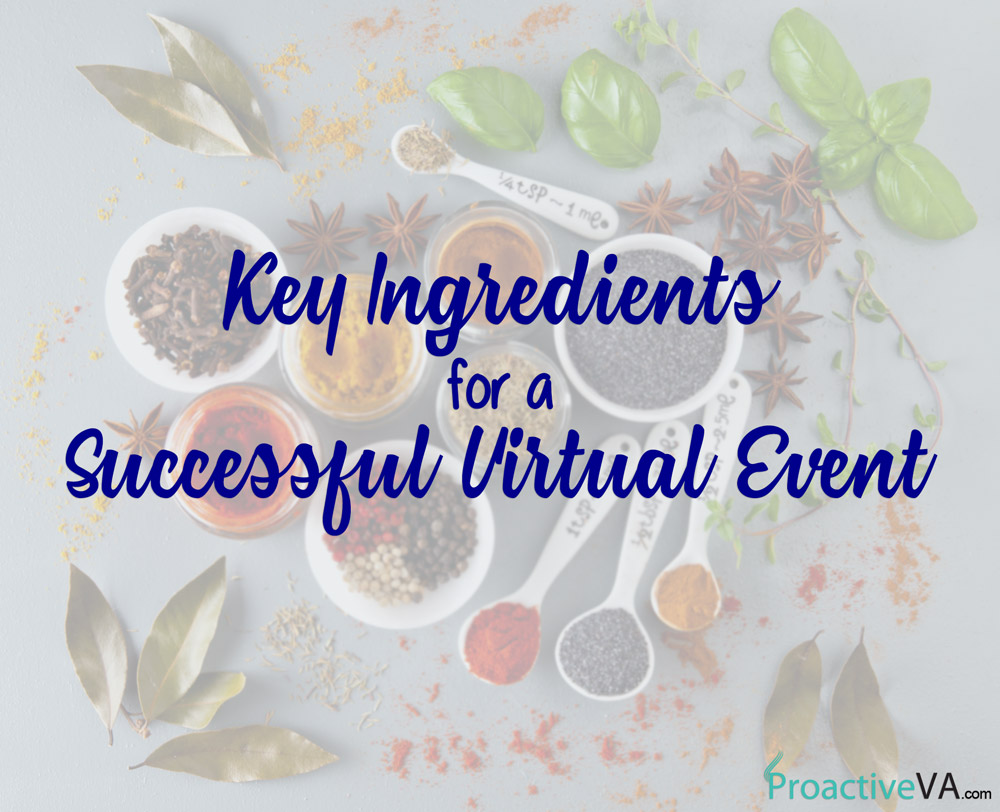 Keys to a Successful Virtual Event