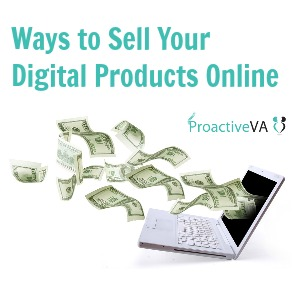 ways to sell digital products online