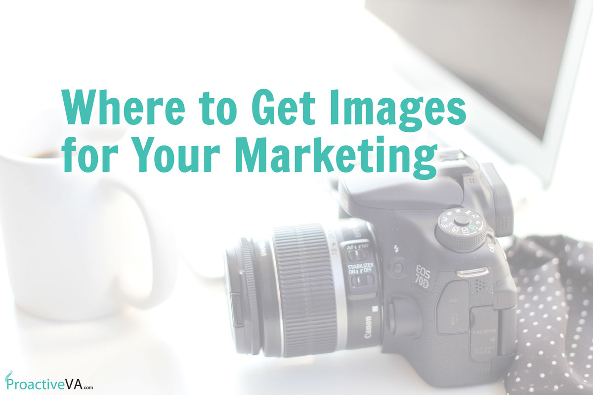 Where to Get Images for Your Marketing